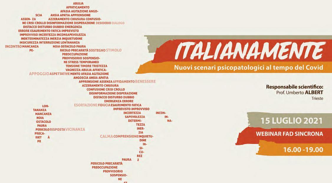 ITALIANAMENTE - NUOVI SCENARI PSICOPATOLOGICI AL TEMPO DEL COVID
